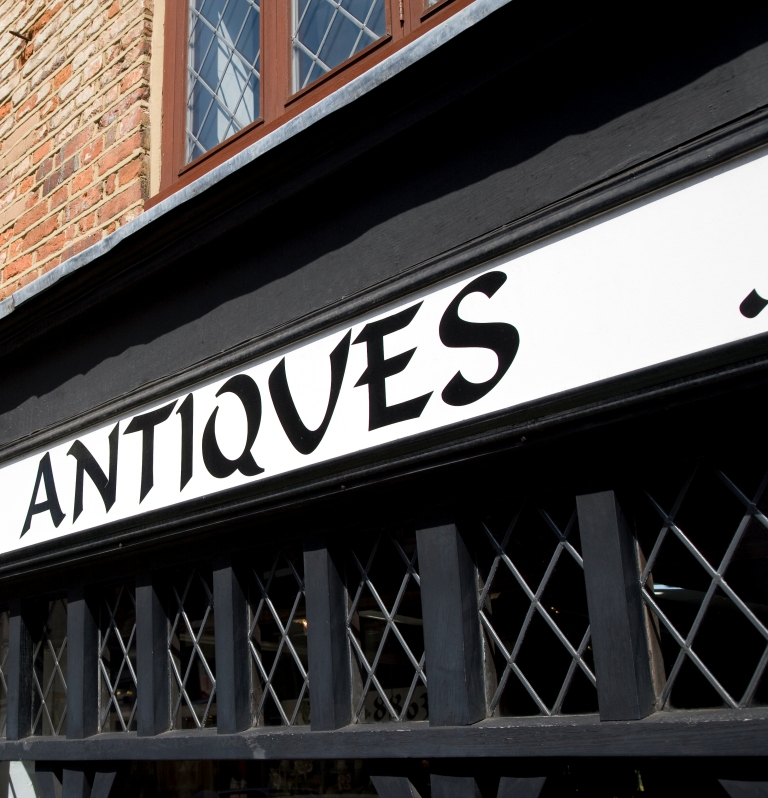 Dorking Antiques - Picture by Paul Knivett